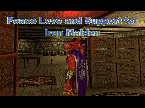 Peace Love and Support for Iron Maiden - Presented in 4k
