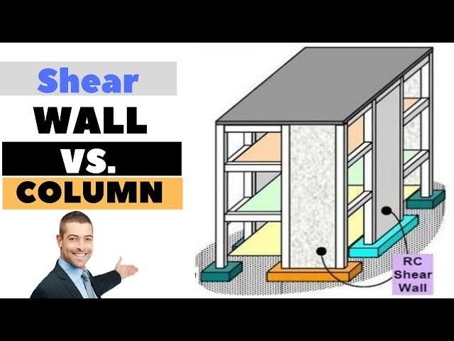 Difference Between Concrete Column and Shear Wall