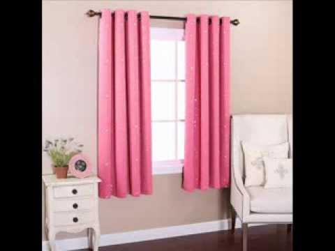 Grommet Star Print Thermal Blackout Window Curtain - KDC - G; grommet blackout curtains