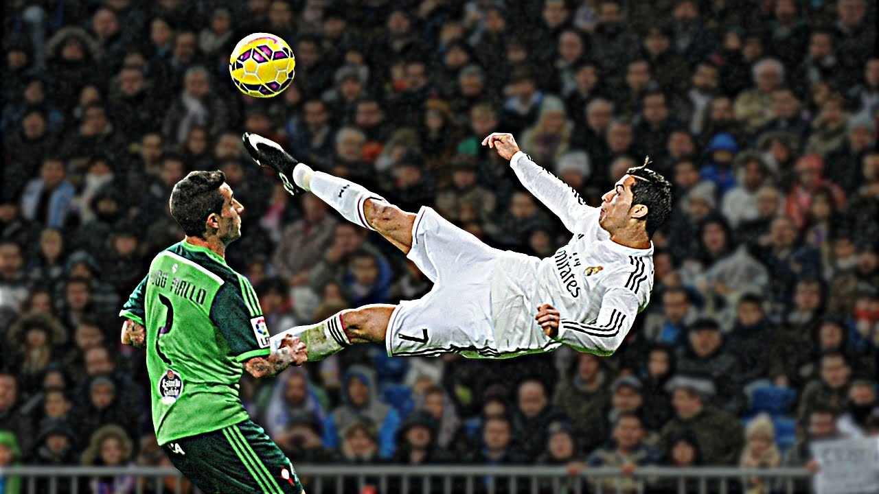 Cristiano Ronaldo Amazing Bicycle Kicks Show