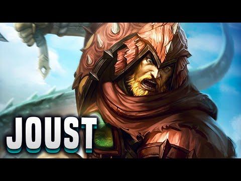 I'm The Wyrm Slayer! (Ullr Build) - SMITE Ullr Joust Gameplay