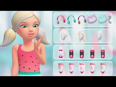 Barbie Dreamhouse Adventures - Barbie House Pool Party, DJ Concert - Fun Dress Up DIY Game For Girls