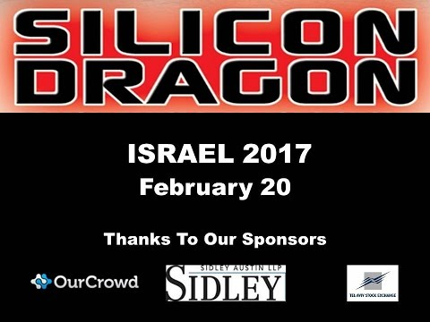 Silicon Dragon Tel Aviv 2017