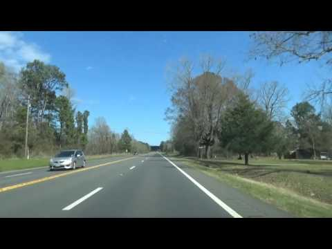 Driving Highway 79 from De Berry, TX to Bethany, LA on the way to Shreveport (Reuploaded)
