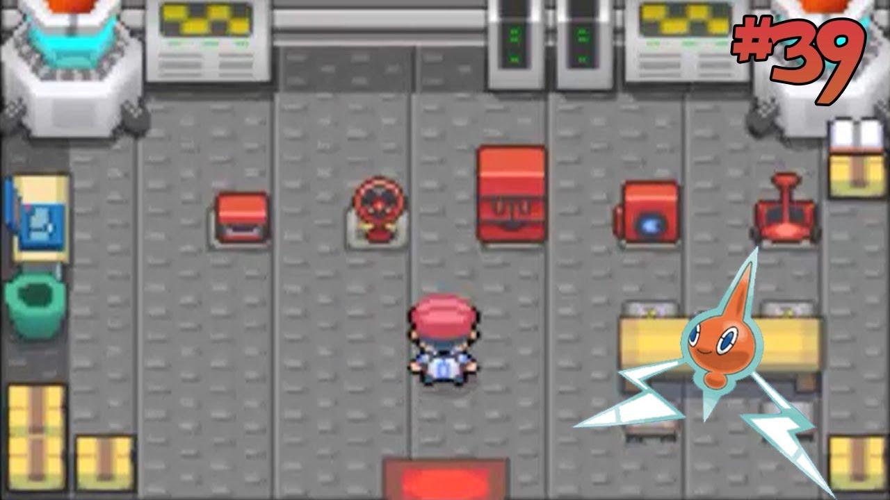 how to transform rotom in pokemon platinum