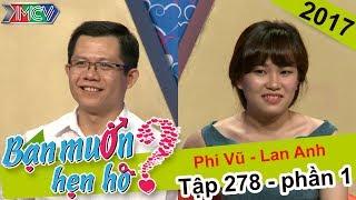 Cặp đôi 'bồ kết' nhau nhờ giao lưu giọng hát | Phi Vũ - Lan Anh | BMHH 278 😙