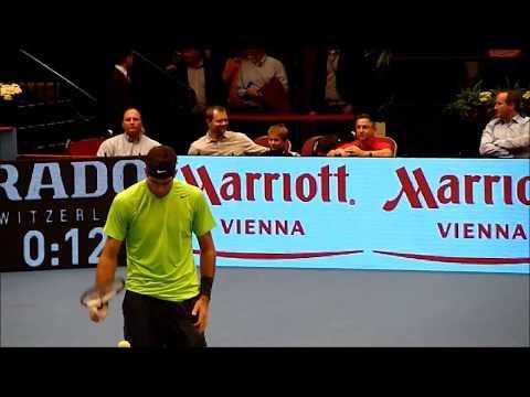 Juan Martin del Potro & Gilles Muller - ATP Vienna -- Erste Bank Open 2012