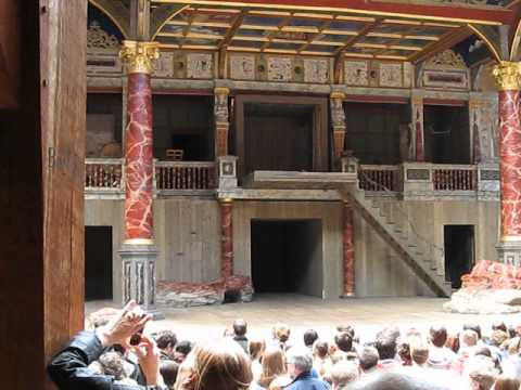 Inside Shakespeare's Globe Theatre in London