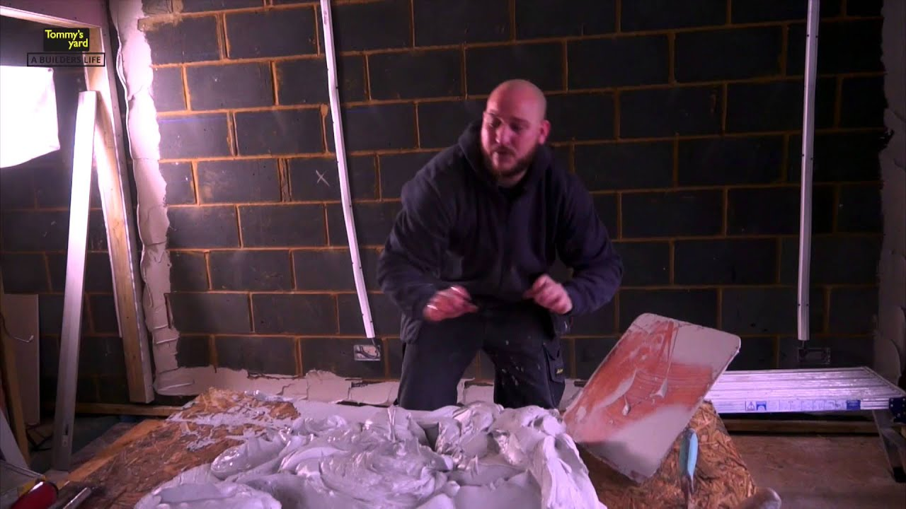 tommy 39 s yard how to dot and dab plasterboard youtube. Black Bedroom Furniture Sets. Home Design Ideas
