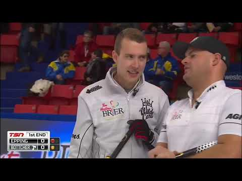 2019 Tim Hortons Brier - Wild Card Game - Bottcher vs. Epping