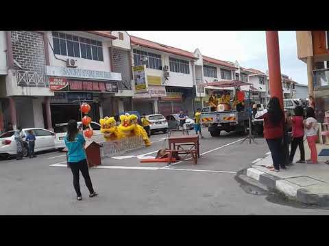 Labuan Lion Dance 25 Feb 2018