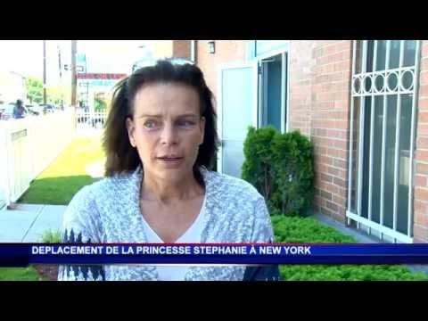 S.A.S. la Princesse Stéphanie en déplacement à New York