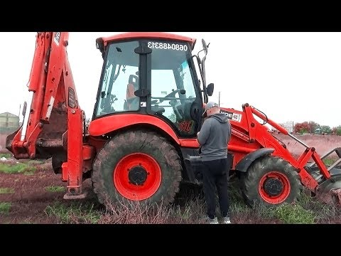 The Tractor Excavator broken down Ride on POWER WHEEL Plane Help | Excavator for kids