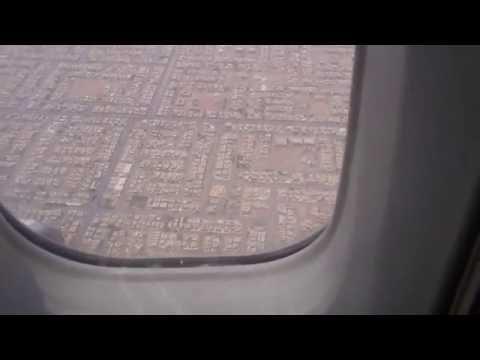 التحليق فوق مدينة الرياض قبيل الهبوط   Fly over Riyadh city befor landing