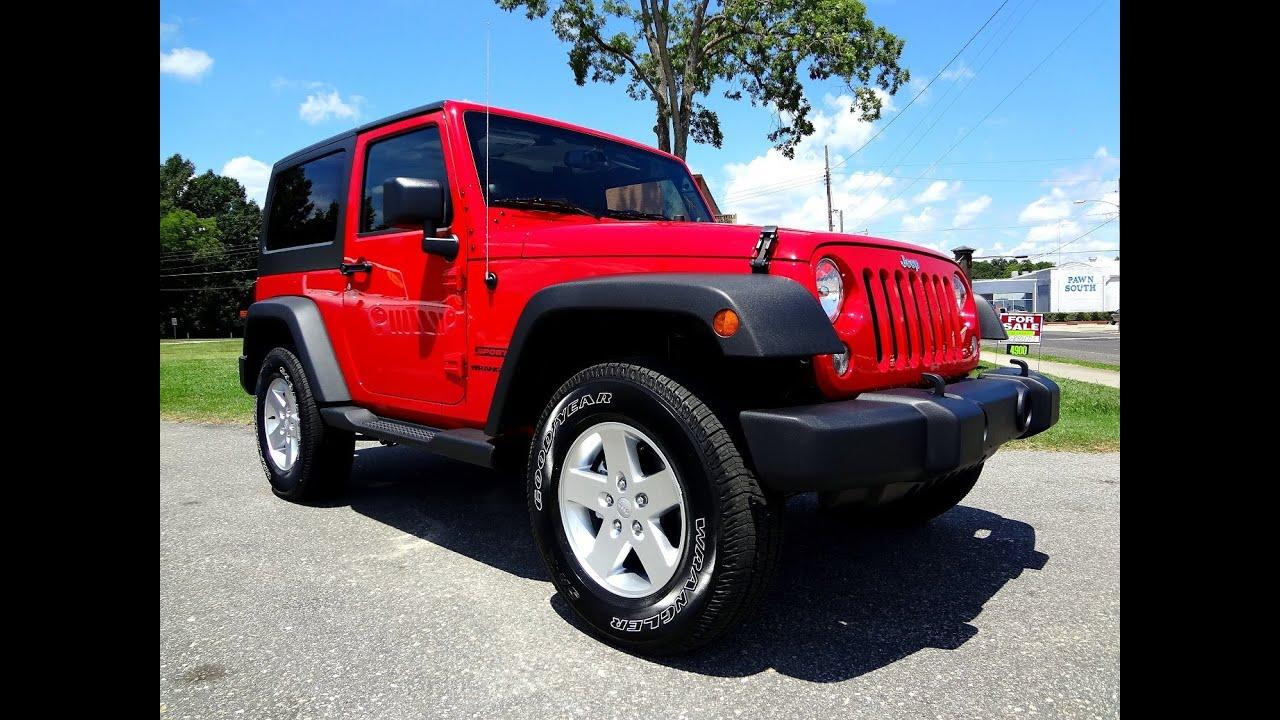 2014 Jeep Wrangler Sport Youtube
