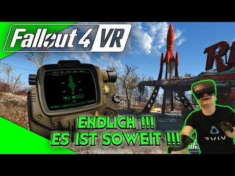 Fallout 4 VR - Es ist soweit! Der Hammer! [Let's Play][Gameplay][German][HTC Vive][Virtual Reality]
