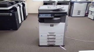 Sharp MX-3640N Copier-Meter 98k