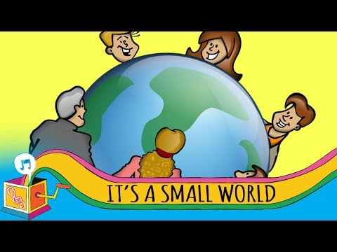 It's a Small World | Children's Song | Karaoke