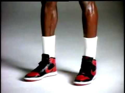 Banned Air Jordan 1 Commercial