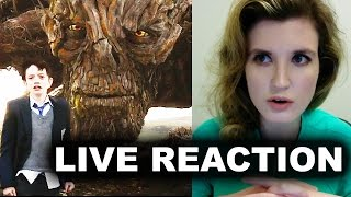 A Monster Calls Trailer Reaction