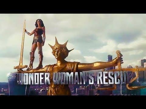 Wonder Woman's Rescue 'Justice League' Featurette