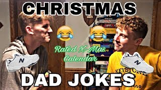 CHRISTMAS DAD JOKES (YOU LAUGH YOU LOSE)// Rated X-Mas Calendar: Day 16