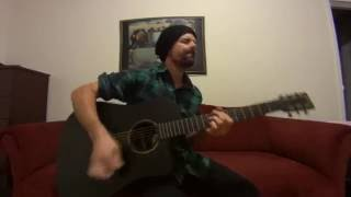 Around The World (Kings of Leon) acoustic cover by Joel Goguen