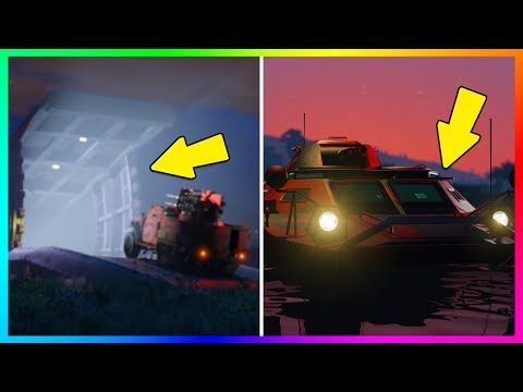 GTA ONLINE GUNRUNNING DLC BUNKER LOCATION FOUND, NEW VEHICLE HIDDEN FEATURES, SECRET DETAILS & MORE!