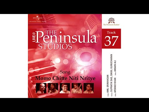 Momo Chitte Niti Nritye in Bangla from Live  @ The Peninsula Studios - 5