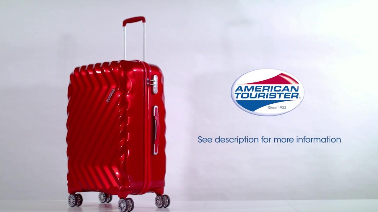 American Tourister TSA Lock Instruction video - Zavis - YouTube