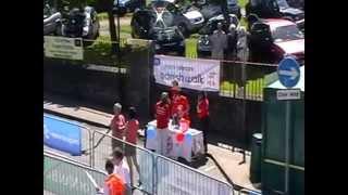 Manx Telecom Parish Walk video 2 - Peel awaiting leaders
