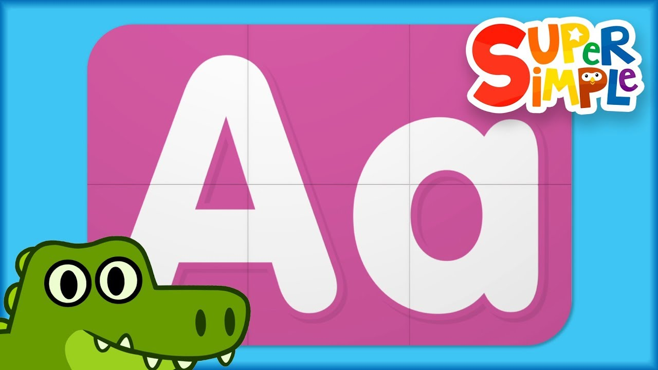Learn Letter A | Turn And Learn ABCs | Super Simple ABCs - YouTube
