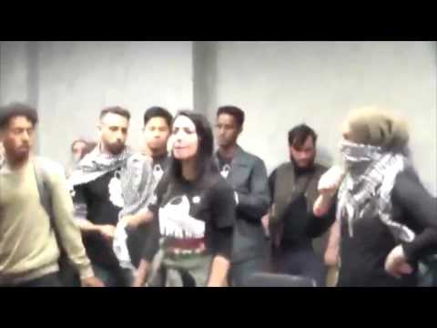 Anti-Zionist Students Disrupt SSI Event at UC Irvine (May 10, 2017)
