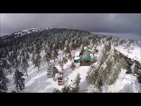TROODOS MOUNTAINS SNOW
