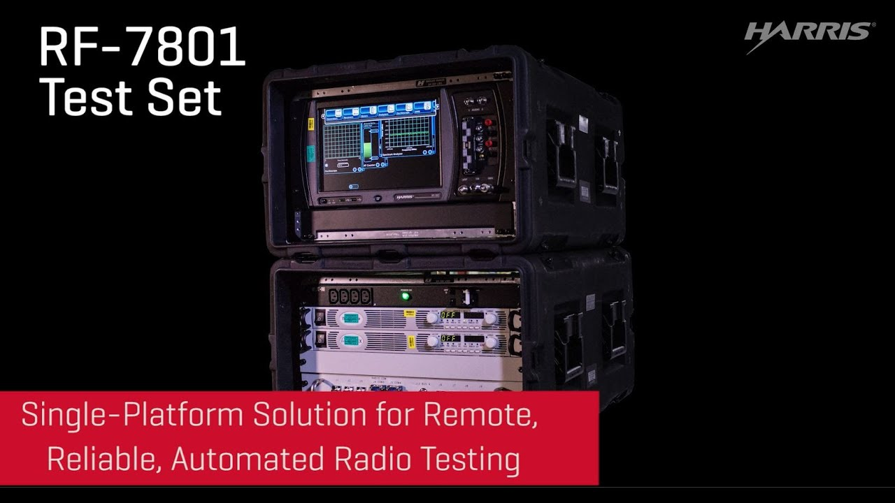 L3HARRIS® RF-7801 TEST SET