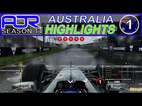 F1 2017 - AOR S14 Round 1 - Australia Highlights