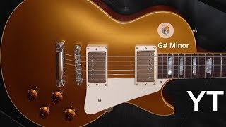 smooth guitar backing track g# minor