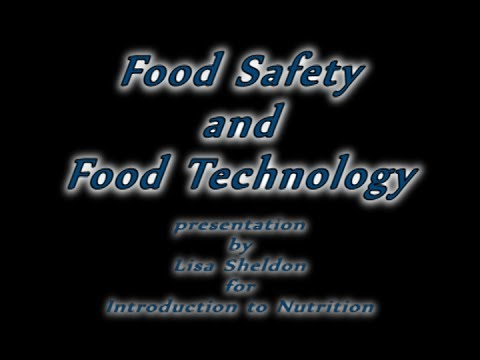 Food Safety and Food Technology