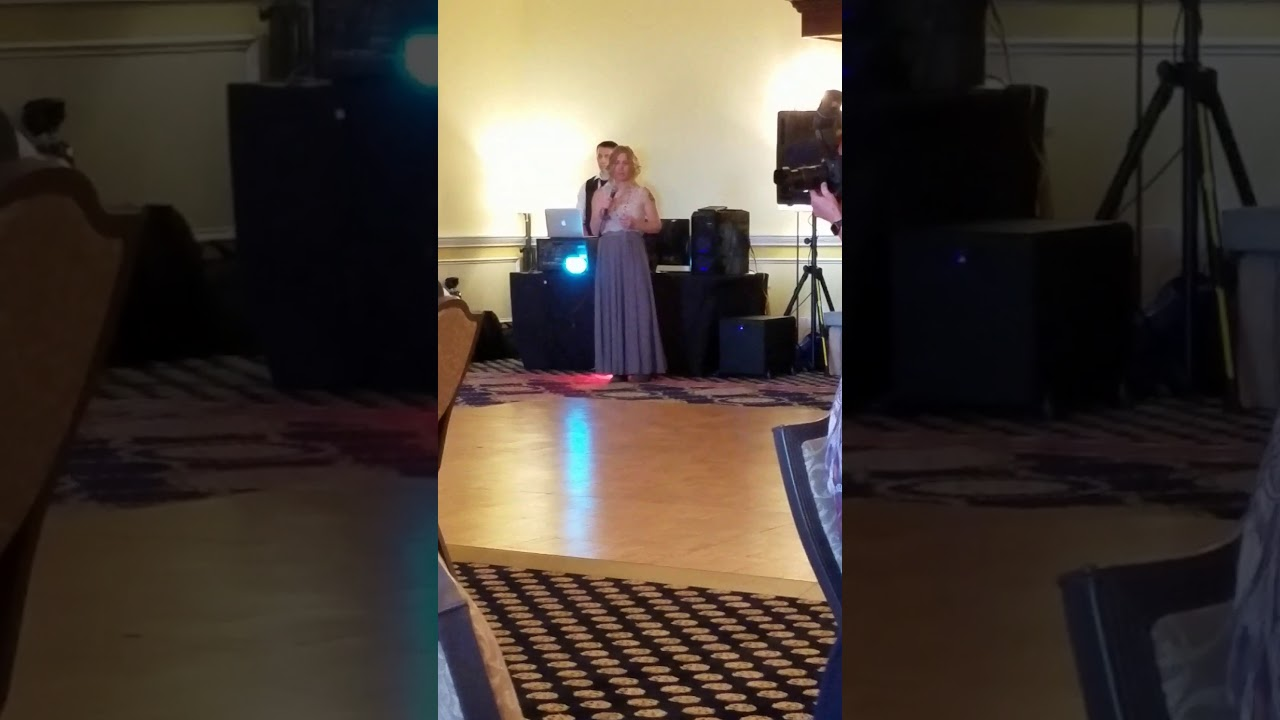Sweeney Buckley Wedding Wedding Reception Welcome Speech Youtube