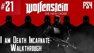 Wolfenstein: The New Order - Hard Walkthrough - Part 21 - Chapter 10 - Berlin Catacombs 1/2