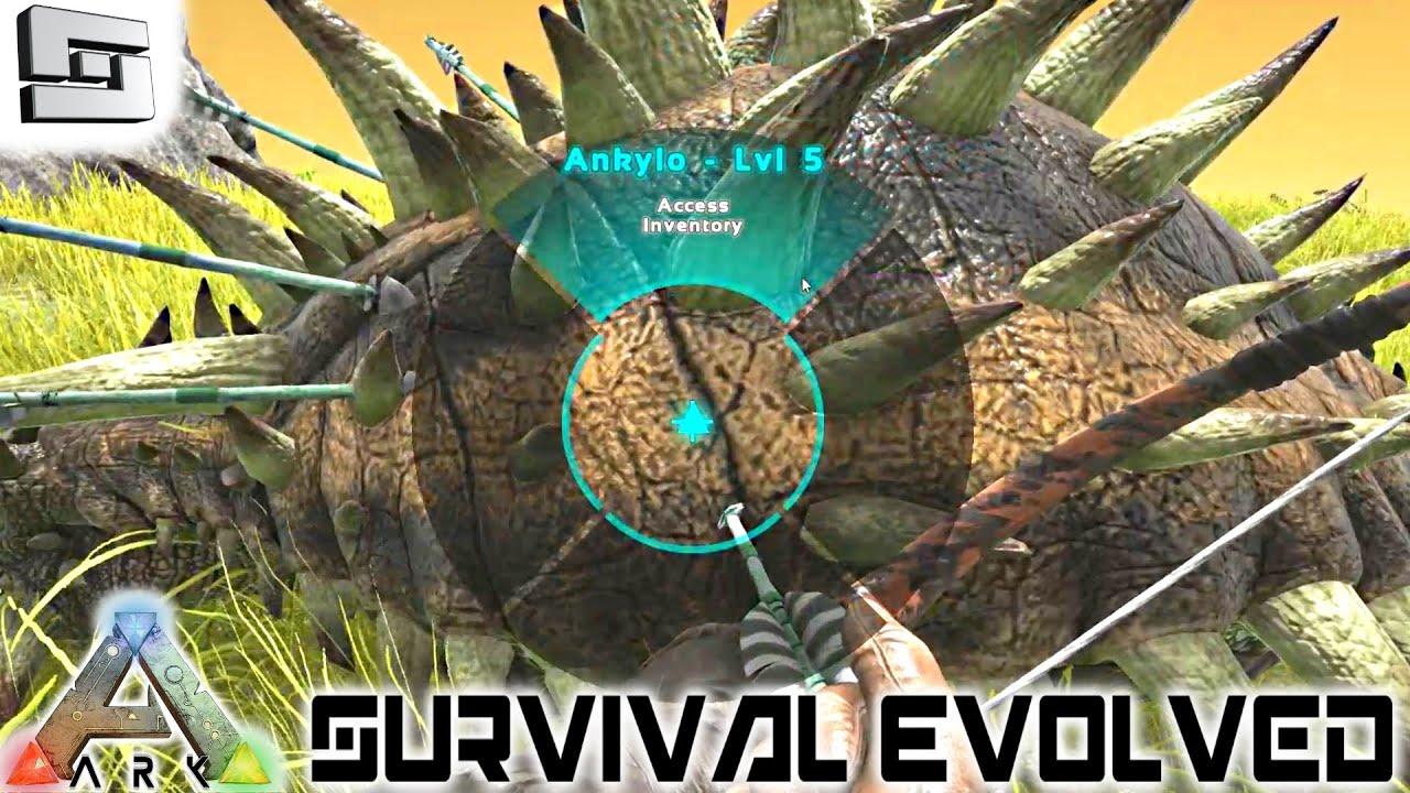 Ark Survival Evolved Mammoth Ankylo New Base E20
