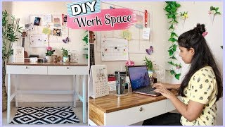 My Home Office Tour | DIY Workspace and Desk Decor Ideas | Office Setup India