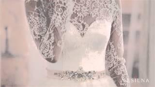 Свадебное платье 2016 года от VESILNA™ модель 3059