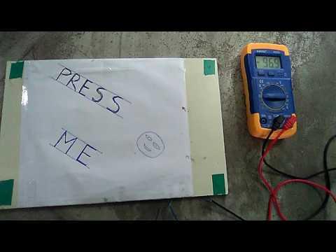 power generation by foot step using piezoelectric generator
