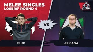 Video Plup vs Armada - Melee Singles: Losers' Round 4 - Smash Summit 6 download MP3, 3GP, MP4, WEBM, AVI, FLV November 2018