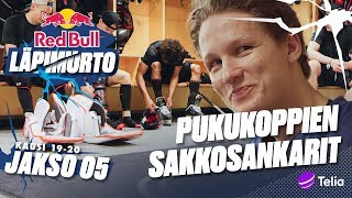 ANNA SAKKOA!! Pukukopit ja sakkokassat esittelyssä! - Red Bull Läpimurto - Jakso 5