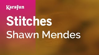 Karaoke Stitches - Shawn Mendes *