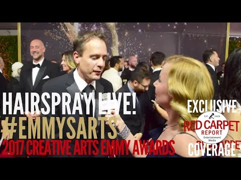 Hairspray Live! production team interviewed at the 2017 Creative Arts Emmys Red Carpet