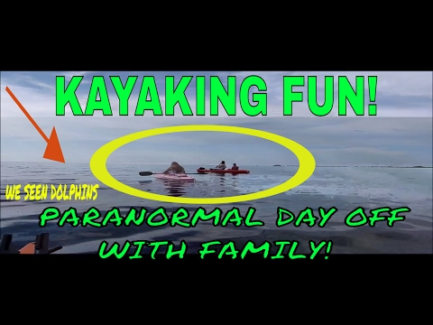 Kayaking at Pine Island,  ghost hunters day of fun with family!!  Fun video!!