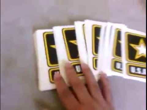 Stickers Packs #6 U.S.Army